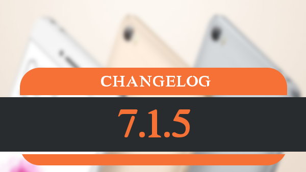 changelog_7.1.5
