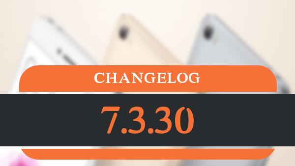 changelog_7.3.30