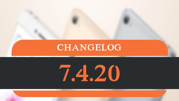 changelog_7.4.20