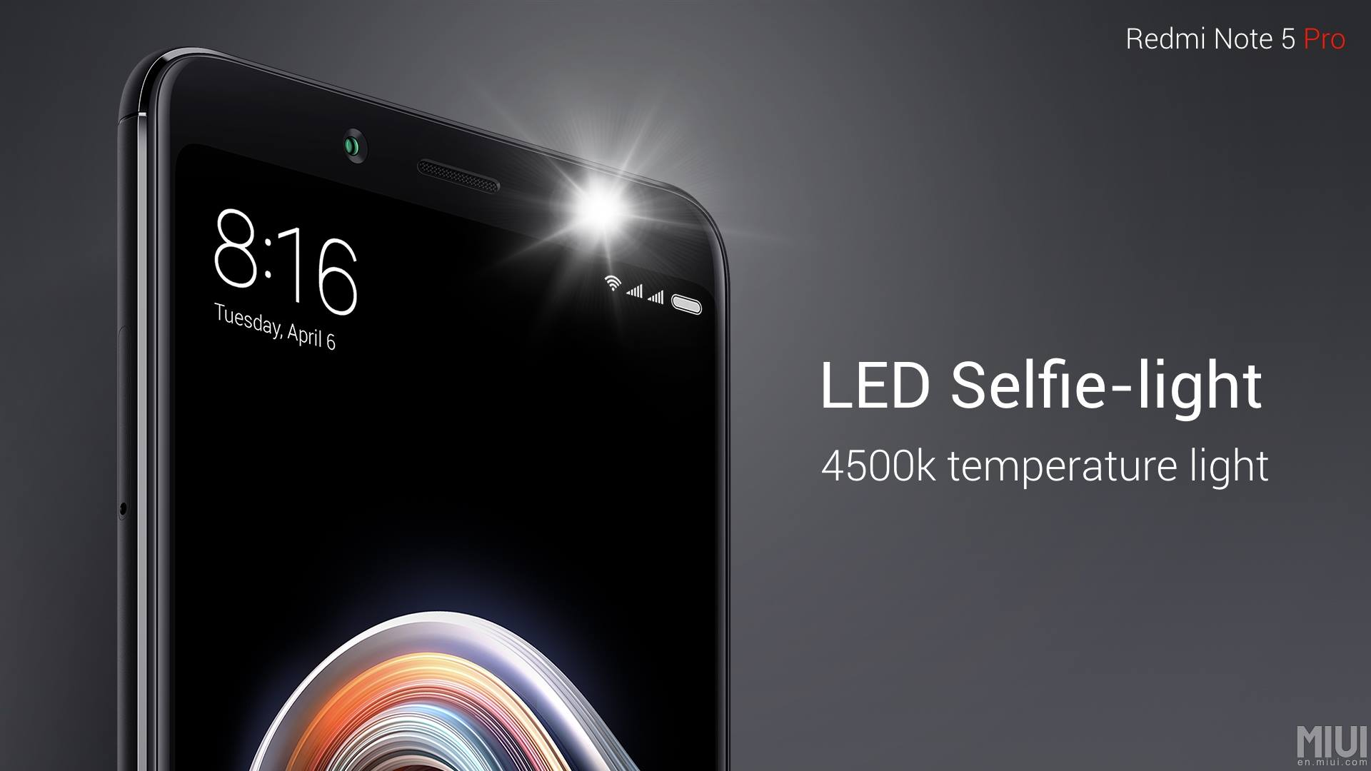 Redmi Note 5 Pro Launched With Selfie Light Face Unlock