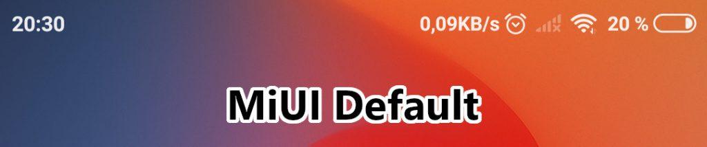 miui center clock mod disabled default stock