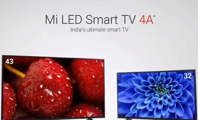 Xiaomi Mi TV 4A launched in India starting at 215 $