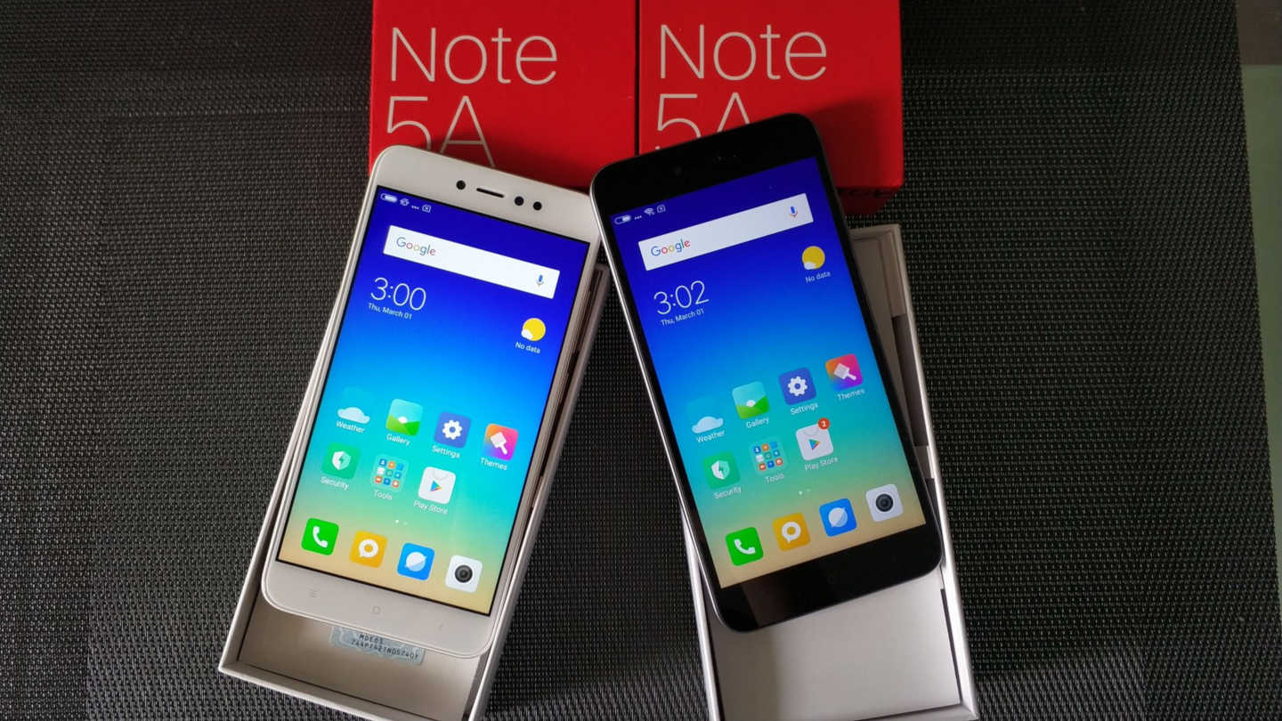 RedMi Note 5A vs  RedMi Note 5A Lite - mi-globe com