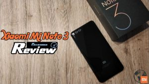 Mi Note 3 Performance Review