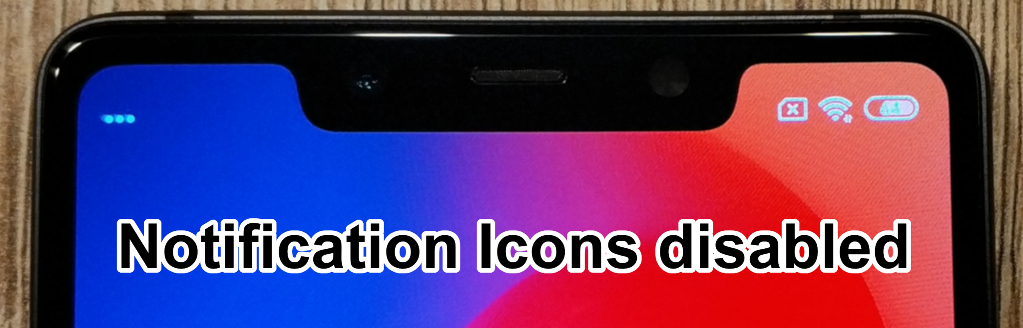 MiUI Notch Notification Mod for Xiaomi Phones - mi-globe com