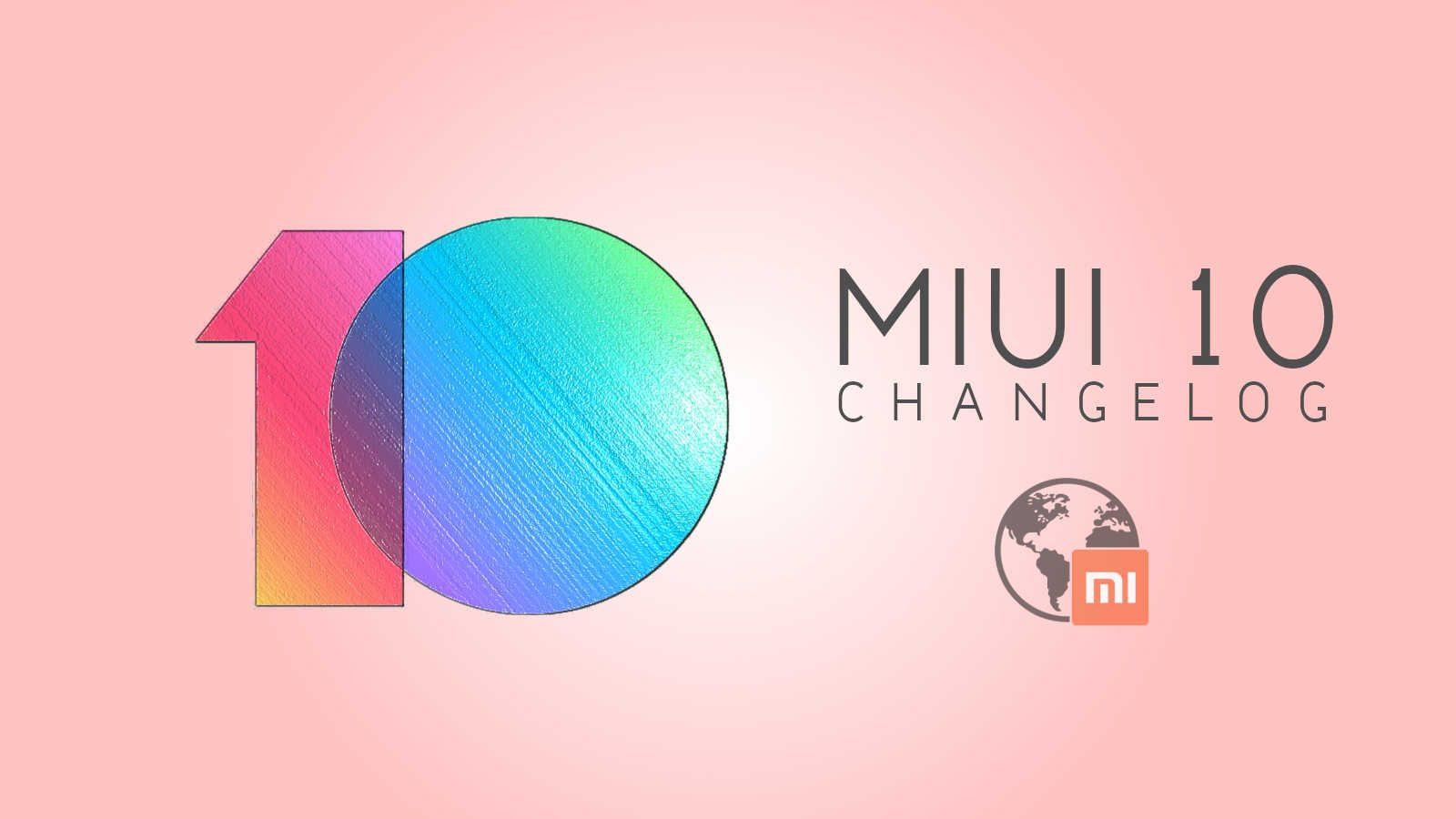 MiUI 9 4 11 Changelog v10 mi-globe ROM - mi-globe com