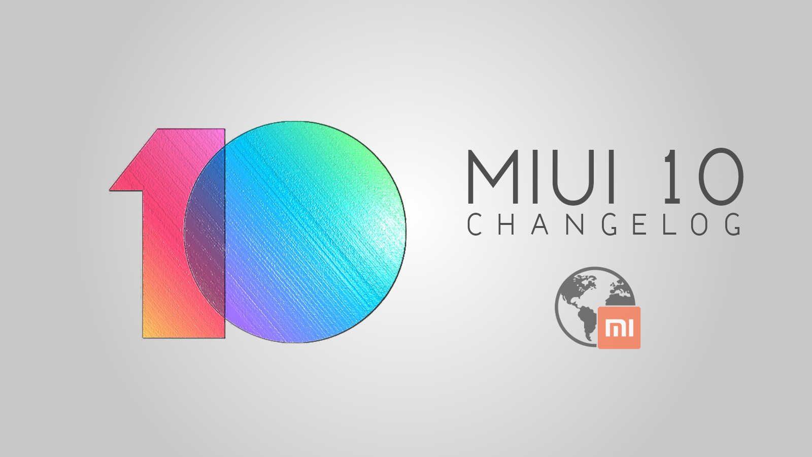 MiUI 9 2 28 Changelog - v10 - globeROM - mi-globe com