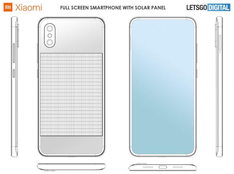 Xiaomi Solar Patent